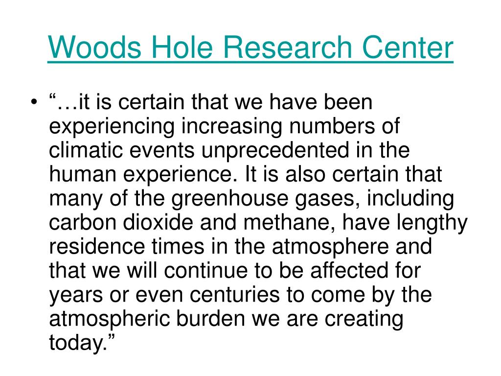 Woods Hole Research Center