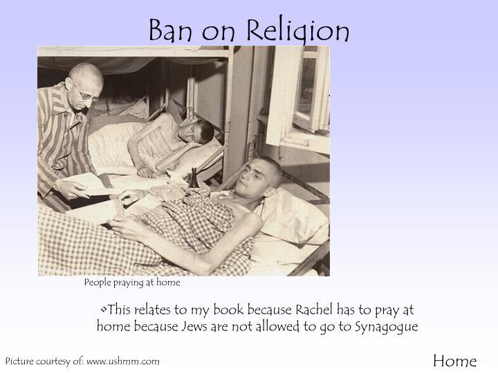 Ban on Religion