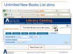 unlimited new books list skins