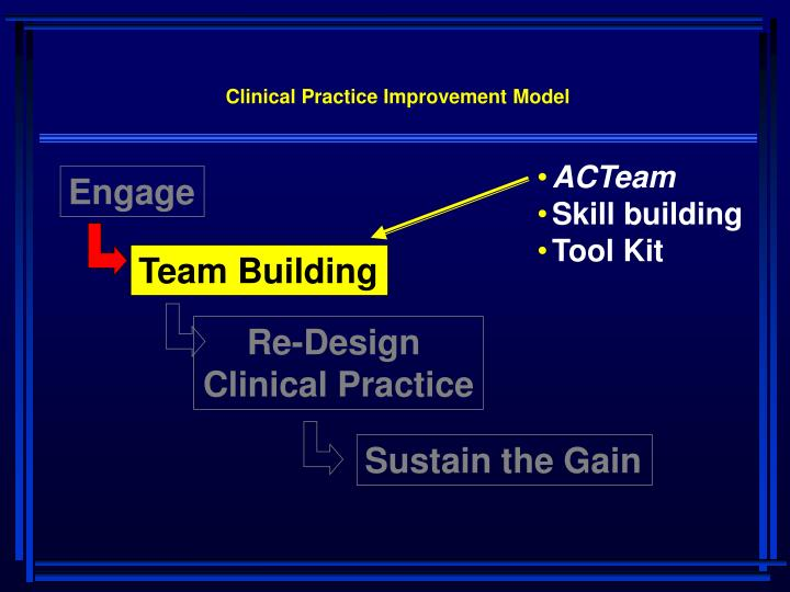 Clinical Practice Improvement Model