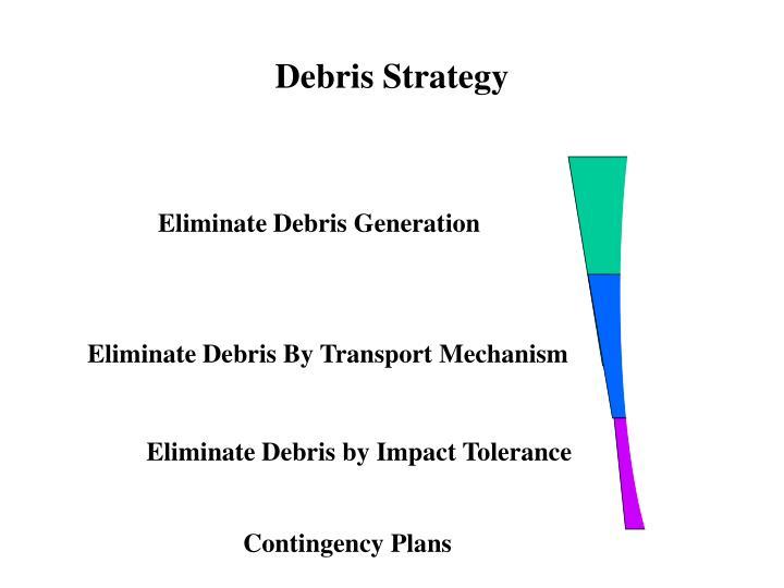 Debris Strategy