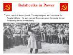 bolsheviks in power14