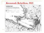 kronstadt rebellion 1921