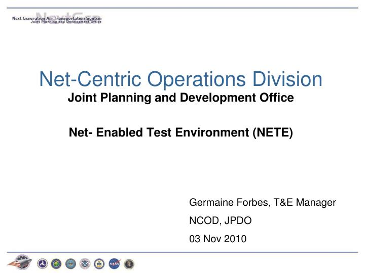 net centric operations division n.