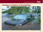 changes in patterns of precipitation2