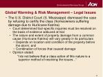 global warming risk management legal issues6