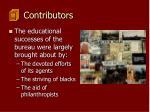 contributors