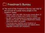 freedman s bureau