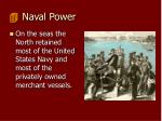 naval power