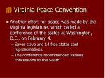 virginia peace convention