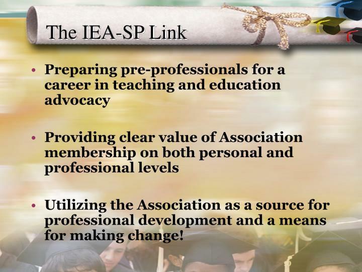 The IEA-SP Link