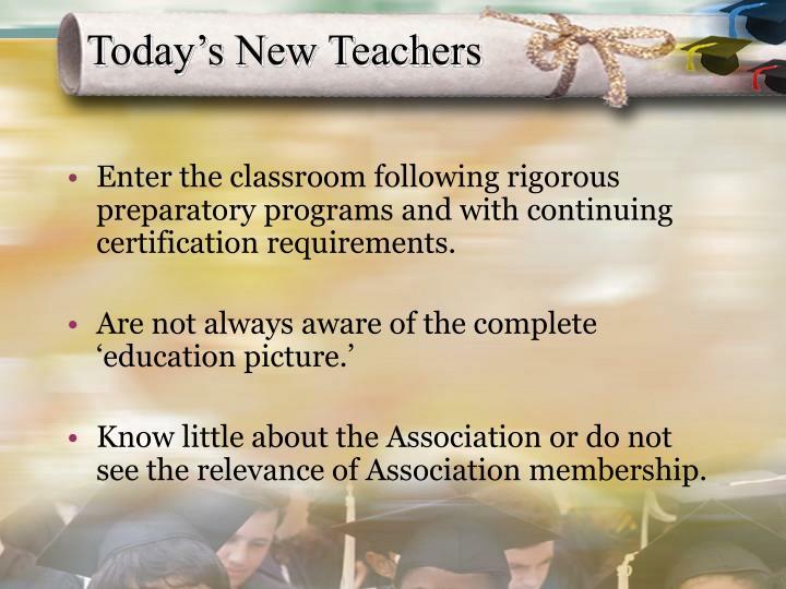 Today's New Teachers