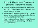 action 9 plan to move osprey nest platforms farther from airport