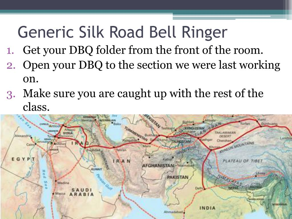 Ppt Generic Silk Road Bell Ringer Powerpoint Presentation Id1486194