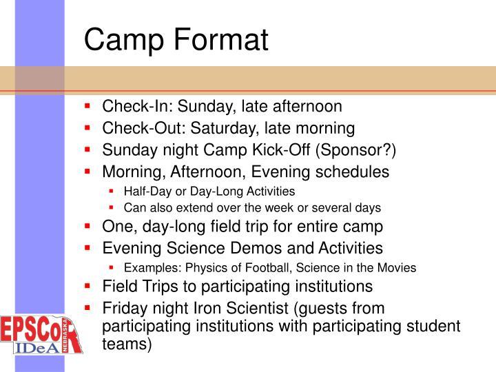 Camp Format