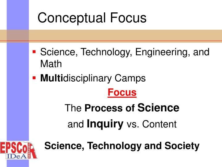 Conceptual Focus