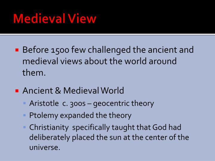 Medieval view