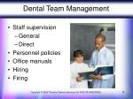 dental team management
