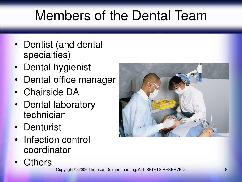 Members of the Dental Team