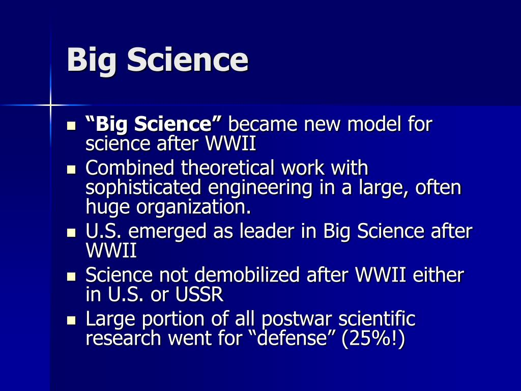 Big Science