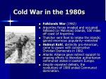 cold war in the 1980s61