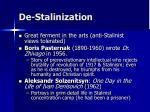 de stalinization15