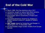 end of the cold war64