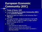european economic community eec