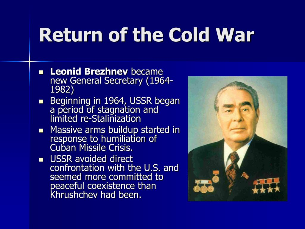 Return of the Cold War