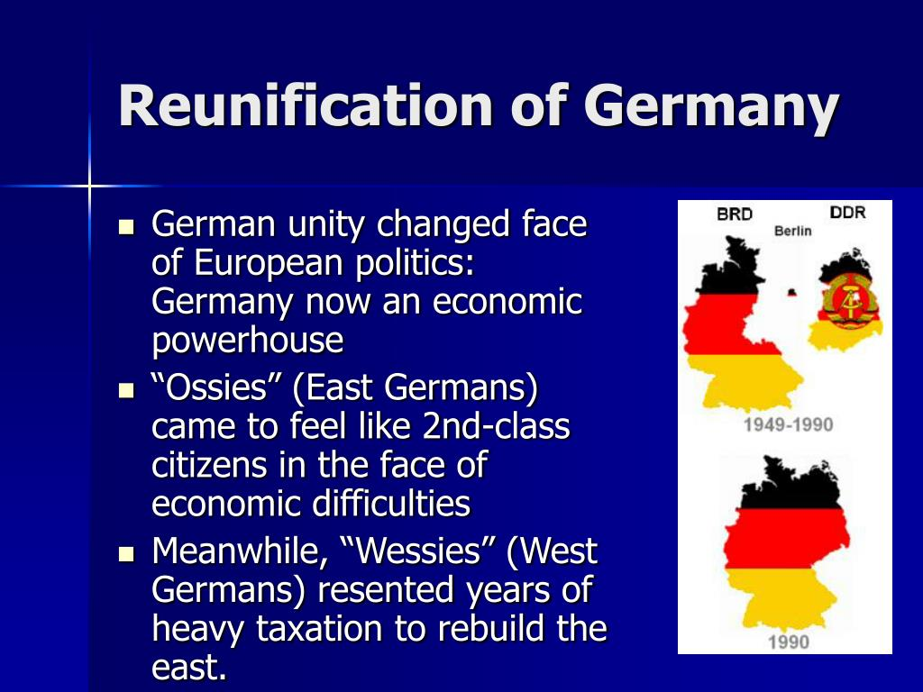 Reunification of Germany