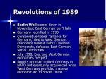revolutions of 198966