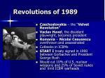 revolutions of 198967