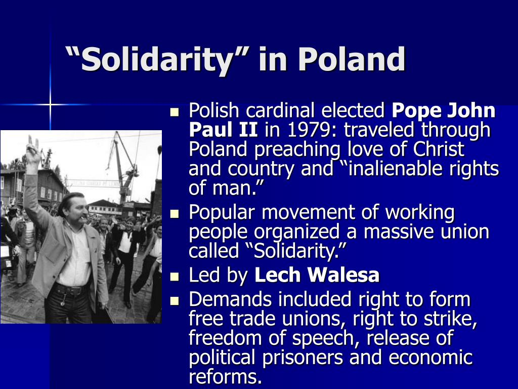 """Solidarity"" in Poland"