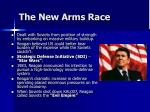the new arms race