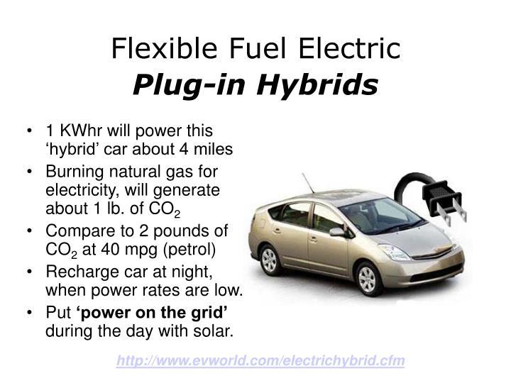 Flexible Fuel Electric