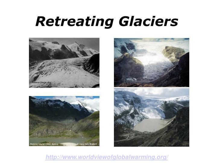 Retreating Glaciers