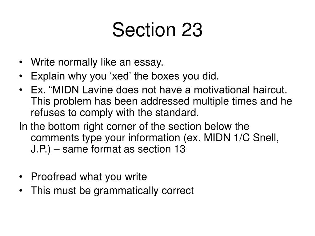 Section 23