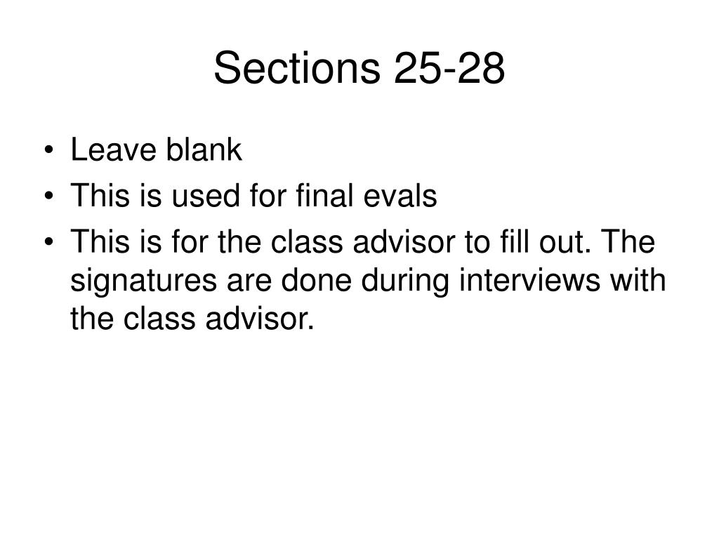Sections 25-28