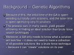 background genetic algorithms9