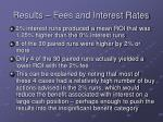 results fees and interest rates26