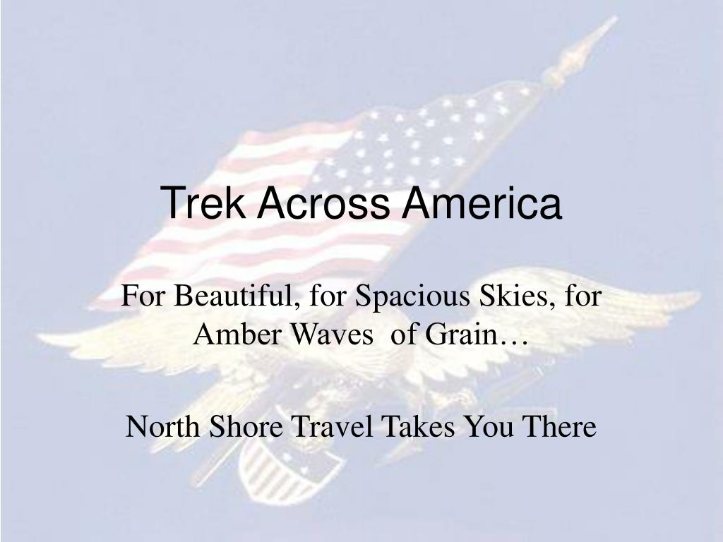 trek across america l.