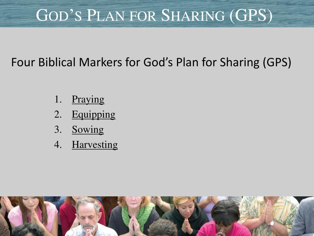 God's Plan for Sharing (GPS)
