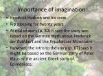 importance of imagination