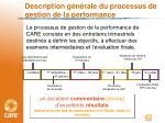 description g n rale du processus de gestion de la performance