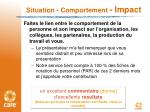 situation comportement impact2