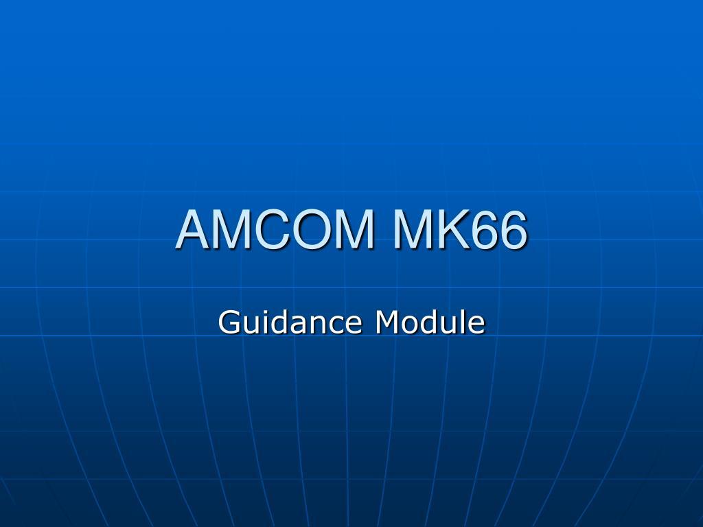 amcom mk66 l.