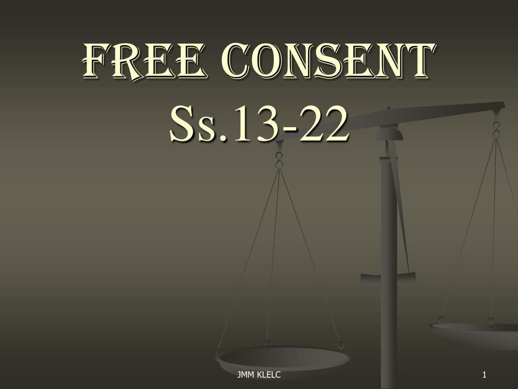 free consent ppt