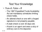 test your knowledge1