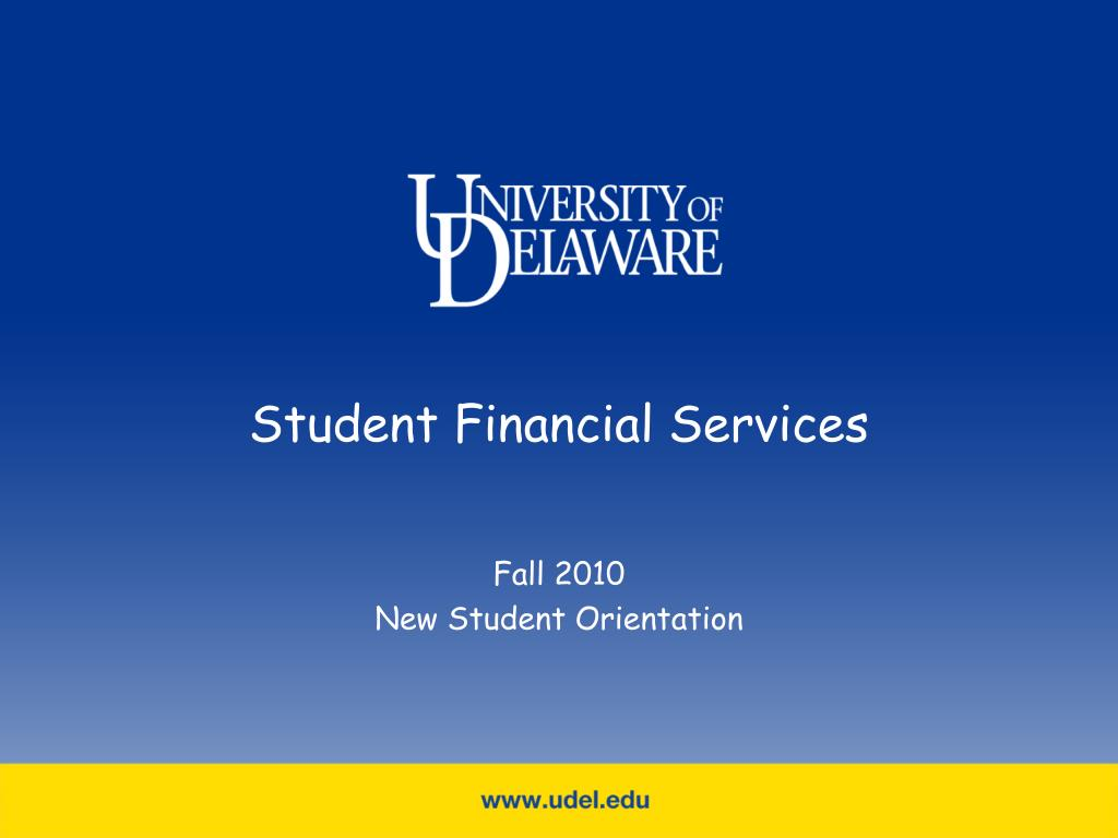 student financial services l.