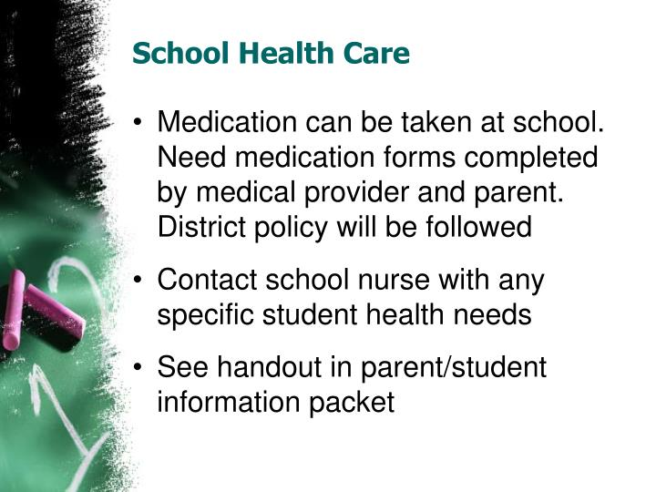 School Health Care